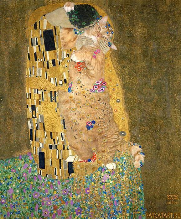 Kat Art Klimpt
